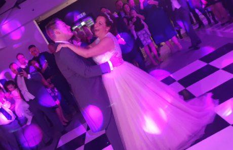 Bride & Groom have their first dance at Swynford Manor wedding venue in Cambridgeshire.